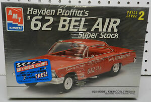 1962-62-HAYDEN-PROFFITT-BEL-AIR-SUPER-STOCK-SS-DRAG-CAR-RACNG-AMT-MODEL-KIT