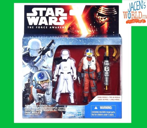 Snowtrooper Snap Wexley Action Figure Mission Series Star Wars The Force Awakens