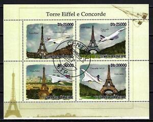 Avions-Saint-Thomas-et-Prince-70-serie-complete-de-4-timbres-obliteres