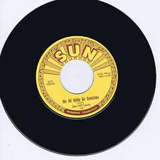 JOE HILL LOUIS - WE ALL GOTTA GO SOMETIME - SUN ROCKIN' BLUES BOPPER (REPRO)