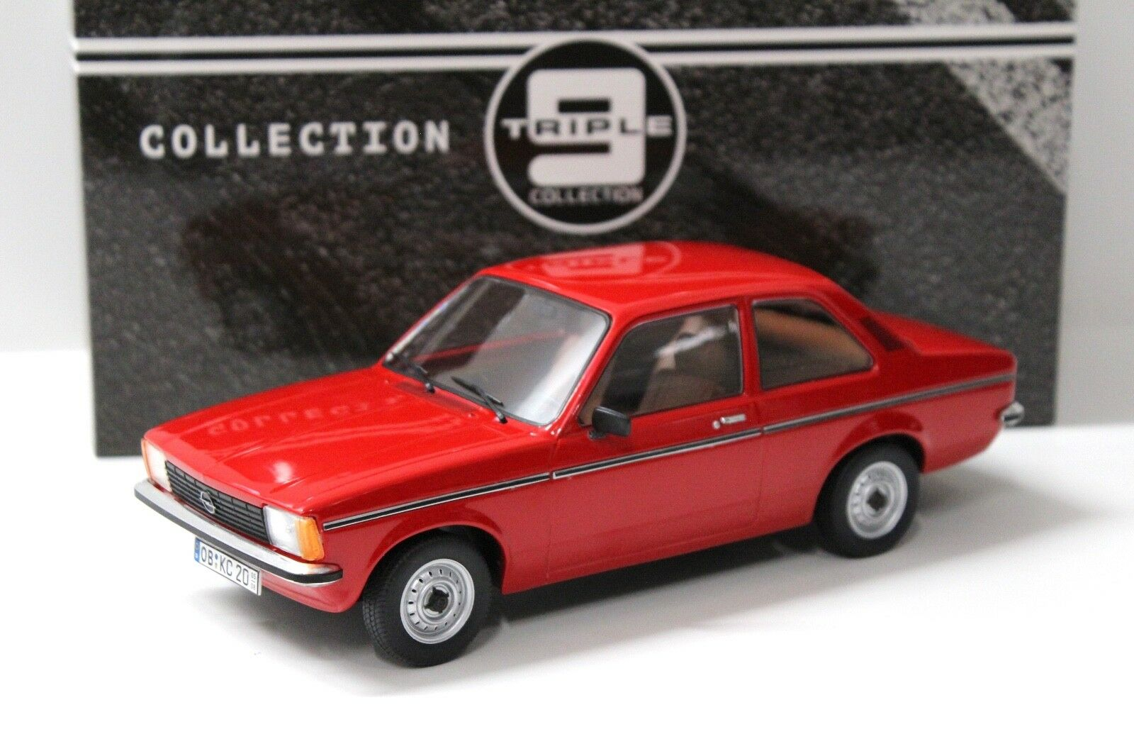 1 18 Triple9 Opel Kadett Kadett Kadett C2 Coupe 2-Doors rot 1977 NEW bei PREMIUM-MODELCARS 95144e