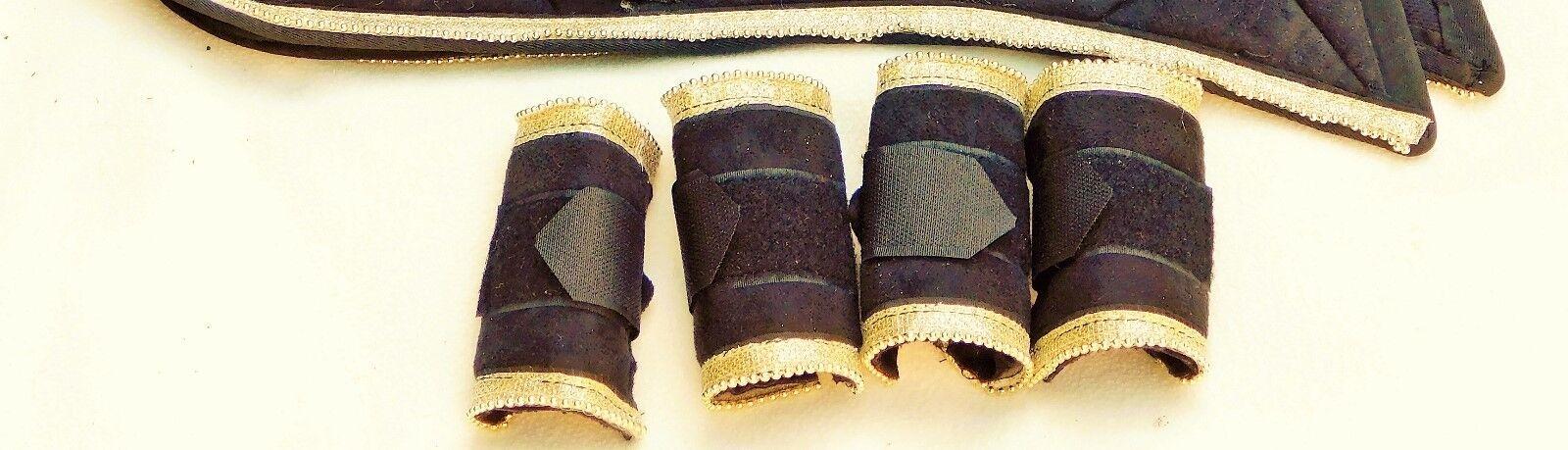 Antik Barock Show Schabracke Beauty Minishetty Shetty Shetty Shetty + 4 Mini Bandagen Tysons cf7571