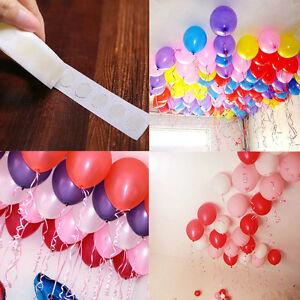 Anniversaire-Decoration-100Pcs-lot-Nouveau-Ballons-Colle-Mariage-Supplies