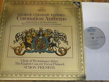 2534 005 Handel Coronation Anthems / Preston / Choir of Westminster Abbey