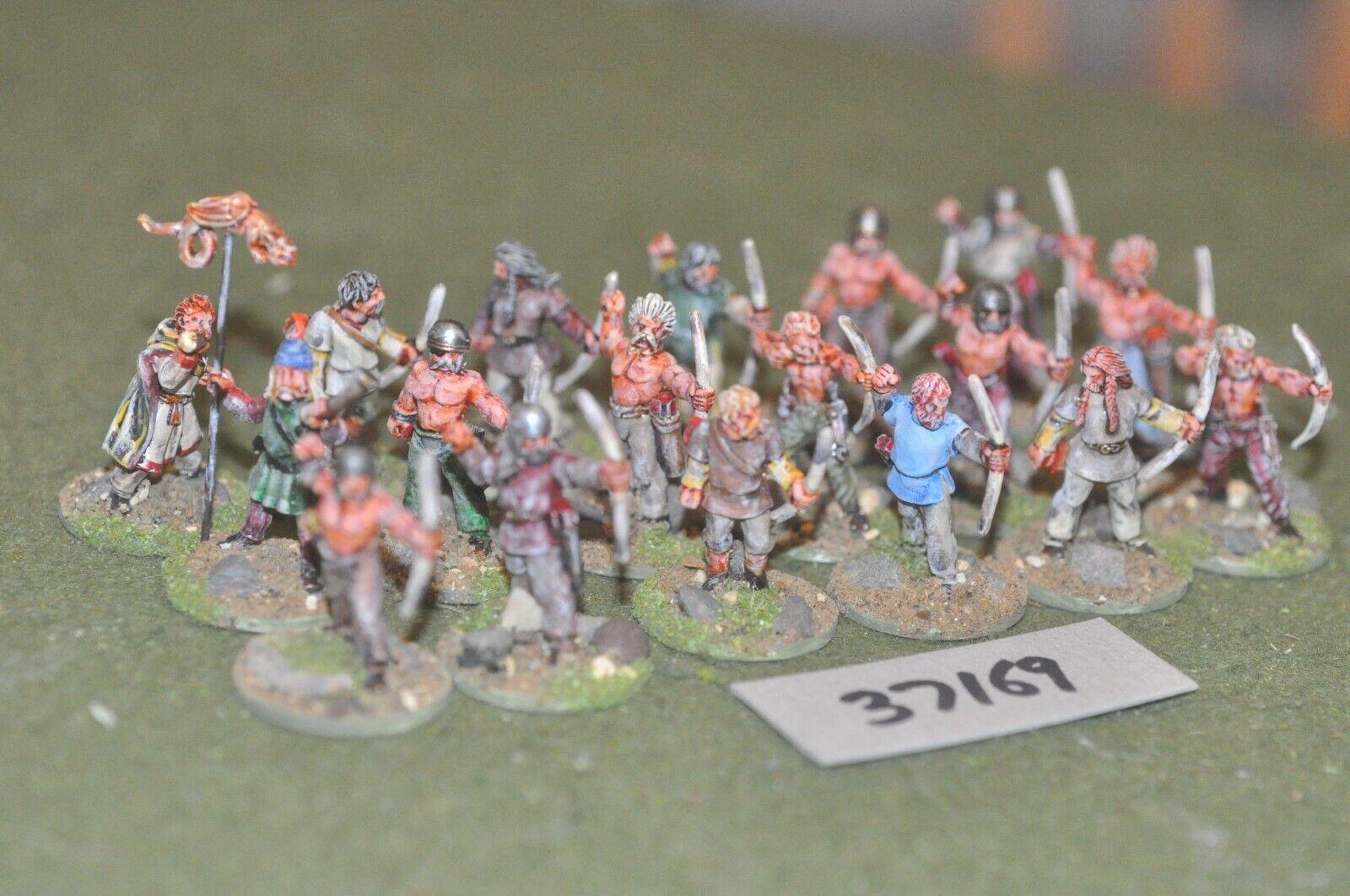 25mm Oscuro Edad Viking-arqueros 18 figuras-INF (37169)