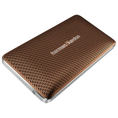 Harman Kardon Esquire-Mini-BR Bluetooth Speaker - Brown
