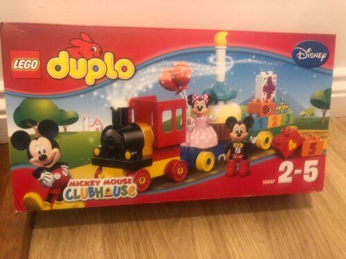 LEGO 10597 Duplo Disney Mickey and Minnie Birthday Parade Playset