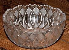 Schale Lausitz Bleiglas Bleikristall transparent Bleiglasschale tief Obstschale