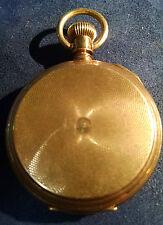 1883 A W CO WALTHAM ROYAL 14 K GOLD POCKET WATCH 11 JEWELS 62.4 GRAMS 72938-1DBW