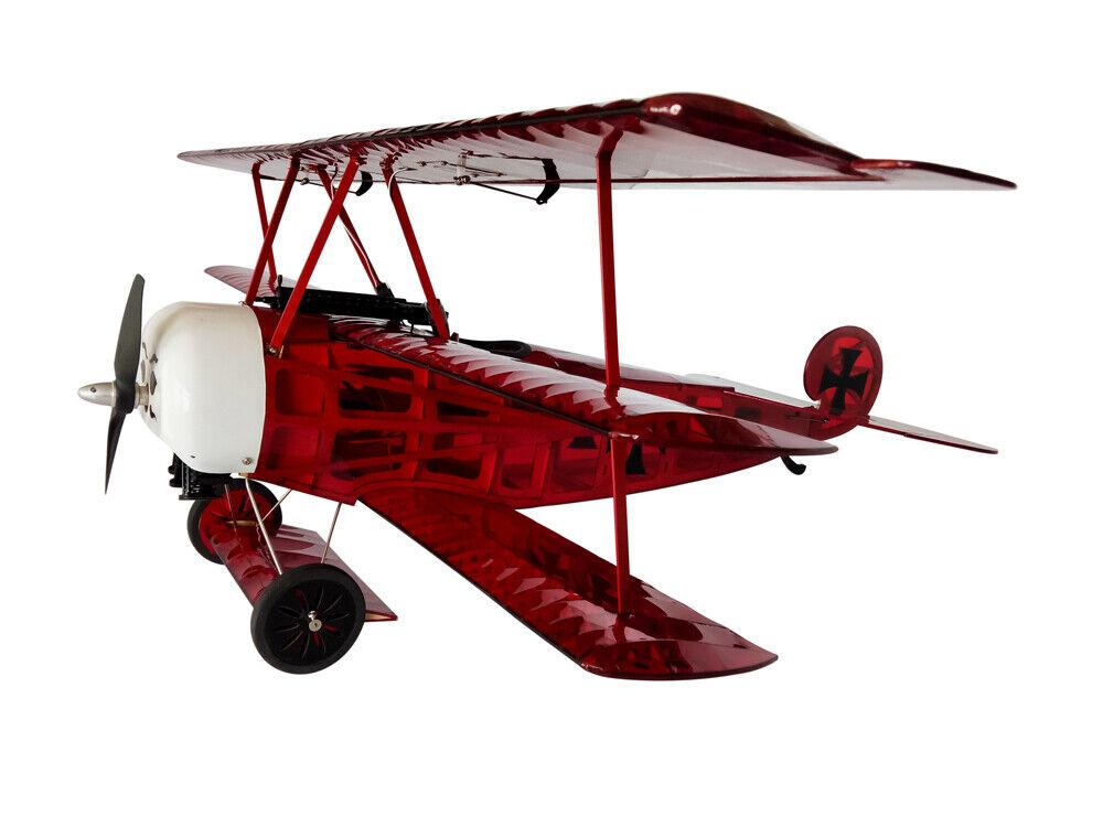 Fokker Dr. I balsawood Kit envergadura 770mm RC avión de madera de construcción modelo de los aviones