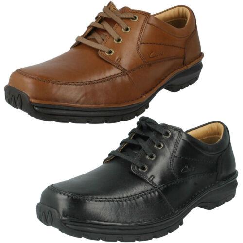 Trabajo Ancho Active Air Corte Cordones Clarks De Zapatos Hombre Rebajas Cuero w4CPvq