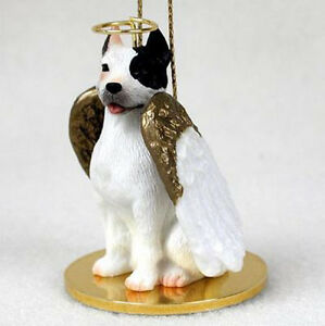 Pitbull Christmas Ornament.Details About Pit Bull Terrier White Angel Dog Christmas Ornament Holiday Figurine Pitbull