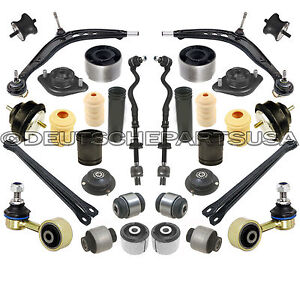Front Rear Control Arm Tie Rod Bushings Suspension Kit 32 For Bmw E36 318i Is Ti Ebay