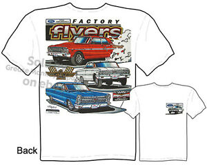 Ford-Racing-Muscle-Car-T-shirts-Thunderbolt-Galaxie-500-GT-Tee-Sz-M-L-XL-2XL-3XL