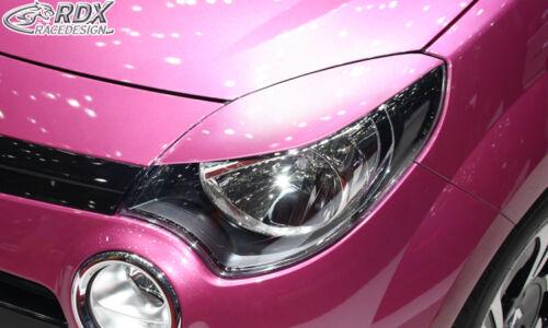 RDX Scheinwerferblenden RENAULT Twingo 2 Phase 2 2012-2014 Böser Blick Blenden