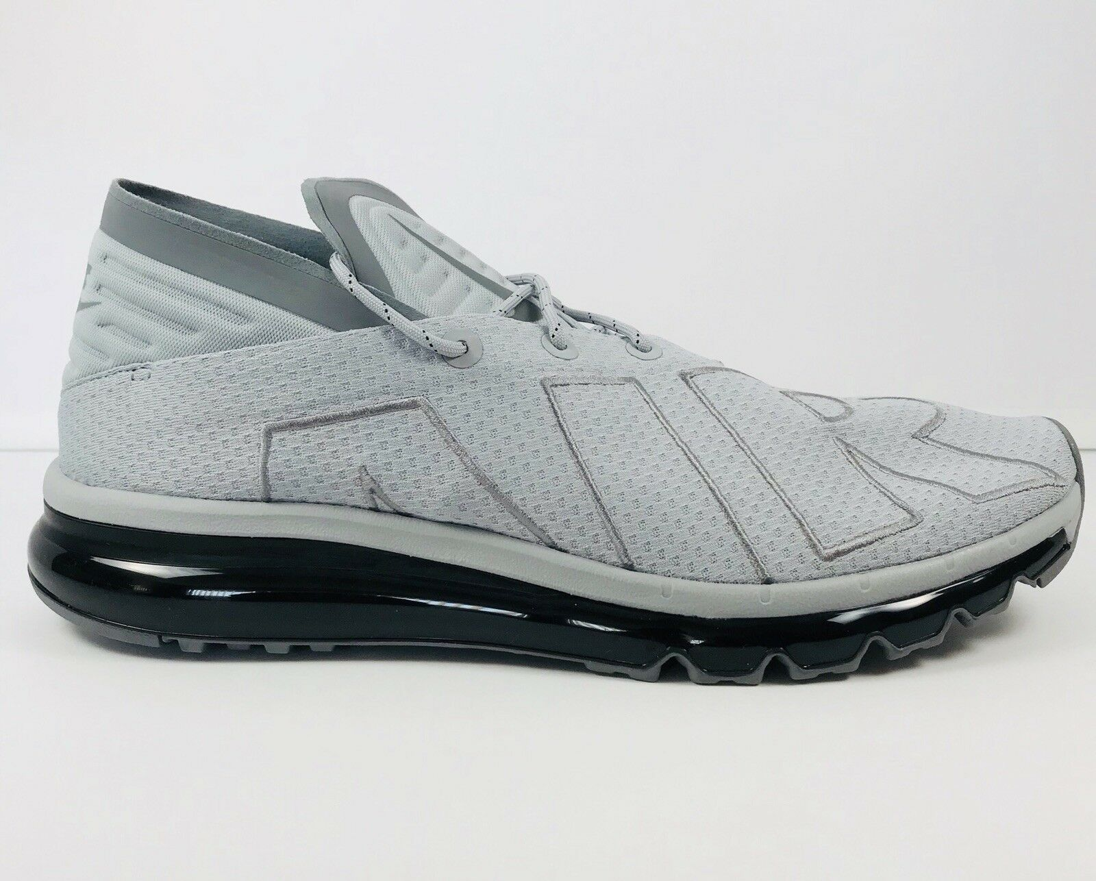Nike Air Max Flair Men's Running Shoes Wolf Grey Black Size 12 942236-003