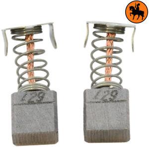Constructif Balais De Charbon Pour Makita Scie Ls800dwbe - 7x10,5x10,9mm - Remplace Cb-429 100% D'Origine