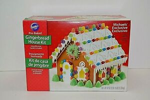 Wilton Industries Pre Baked Gingerbread House Kit 2014 5317 Michaels