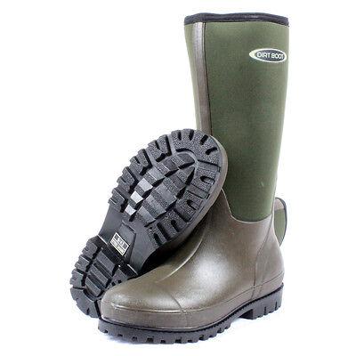 Dirt Boot ® Neoprene Pesca Wellington Muck Boot Stivali Di Gomma Taglie 4-13- Né Troppo Duro Né Troppo Morbido