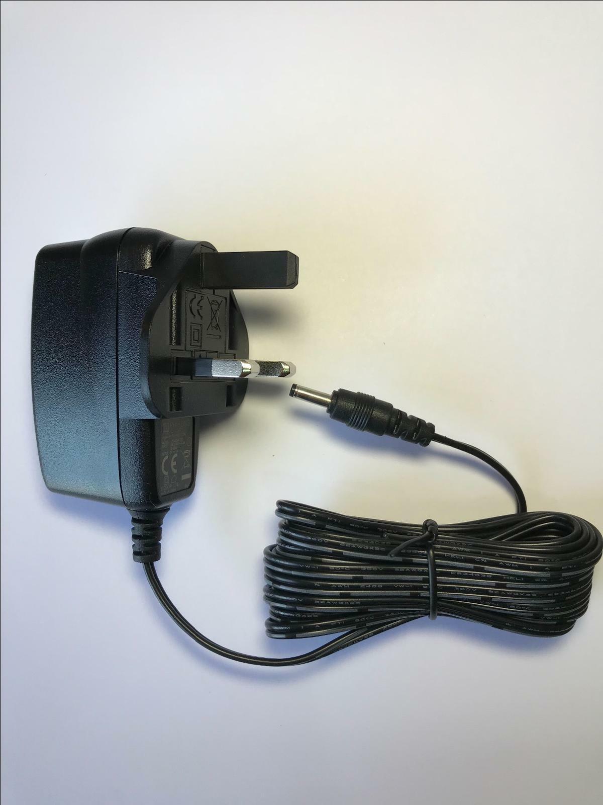 5V AC Adaptor Power Supply for Oregon Scientific BA900 Crystal Weather Station