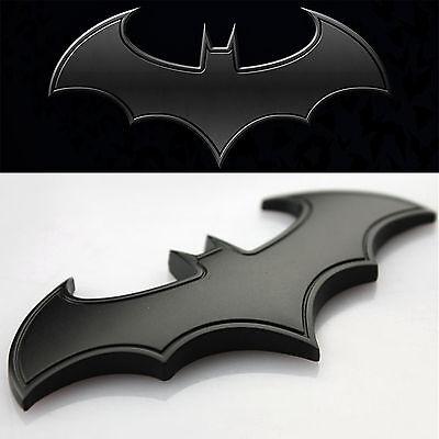 1pc Cool 3D Metal bat auto logo car sticker metal batman badge emblem tail decal