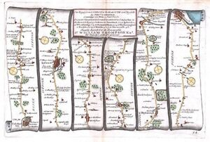 Antique-map-The-Road-from-London-to-Yarmouth-plate-054