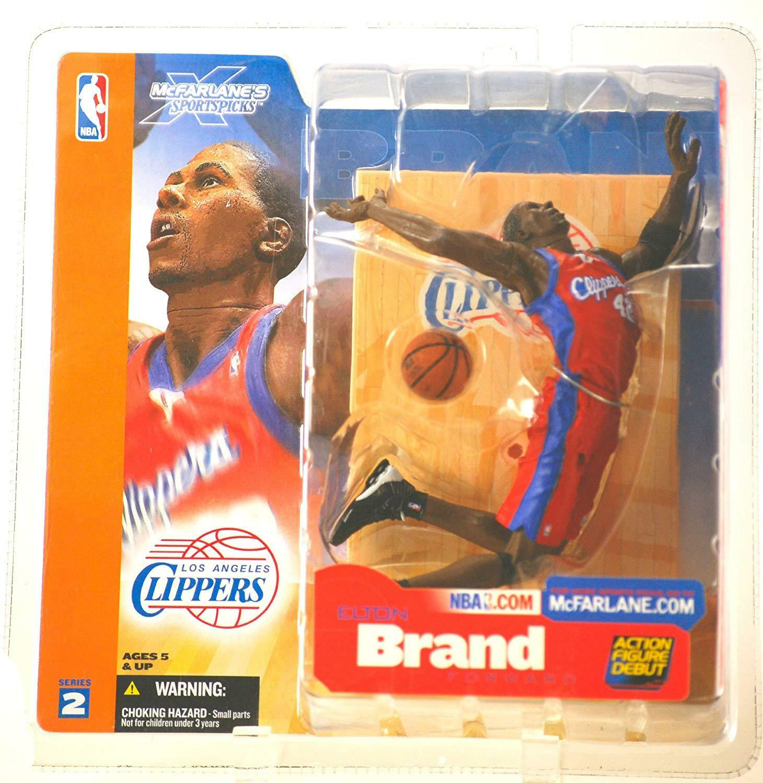 "MCFARLANE - NBA SERIES 2 – ELTON BRAND - L.A. CLIPPERS – 6"" FIGURE"