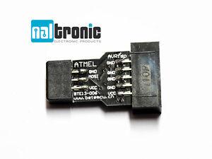10Pin zu 6Pin Adapter Converter Stecker für AVRISP USBASP STK500 Arduino 165