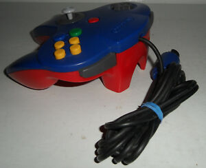 Details about 100% OEM Nintendo 64 SUPER MARIO Custom Controller Genuine  Replacement Red Blue