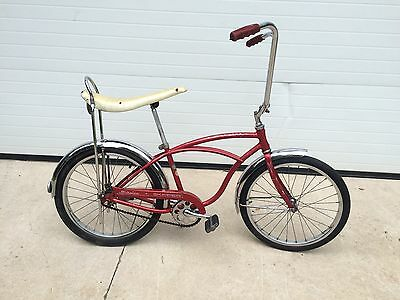 "1966 Schwinn Skipper Stingray 20"" boys bicycle old school BMX vintage typhoon"