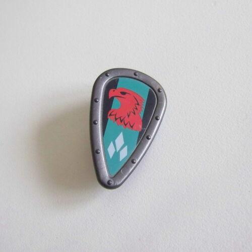 L695 MOYEN-AGE Bouclier Gris Vert Aigle Rouge Chevalier 4866 PLAYMOBIL