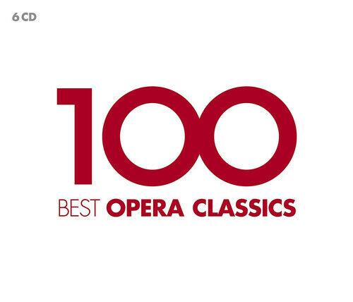 Various Composers 100 Best Opera Classics CD