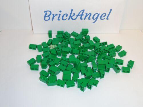NEW LEGO 1X2 Green Bricks Bulk Lot of 100 Pieces 3004