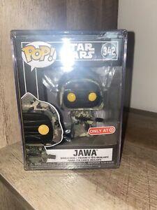 Funko Pop Star Wars Jawa Star Futura Exclusive w// Hard Protector *In Hand*