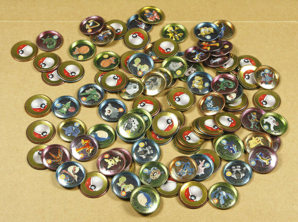 105 Pokemon Pokemon Pokemon Metallic Pogs Tazos c9f558
