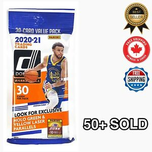 🏀2020-21 NBA Panini Donruss FAT PACK Lot Of 1🔥🔥 CANADA SEALED XMAS GIFT🎄