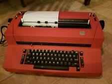 Red Ibm Correcting Selectric 2 Electric Typewriter Ii Vintage Read Description