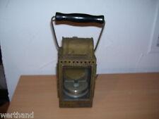 Alte Karbidlampe OSMEKA DB Eisenbahnlampe 1956 Osnabrücker Metallwerke
