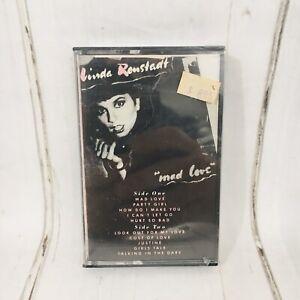 Linda-Ronstadt-Mad-Love-Cassette-Tape-Sealed-OOP