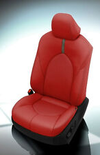 Katzkin Leather Seat Covers 2018 2020 Toyota Camry Le Se Red Silver Suede Fog
