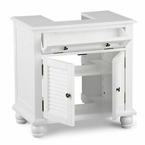 bathroom under sink storage cabinet pedestal sink storage space saver organizer shelf 22448