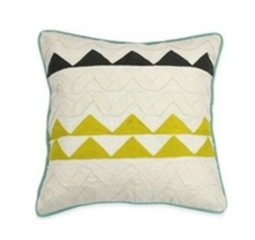KAS AUSTRALIA Greta Sqaure Toss pillow Cool New