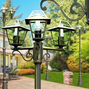 lampadaire luminaire ext rieur r verb re lampe de jardin lampe sur pied 144094 ebay. Black Bedroom Furniture Sets. Home Design Ideas