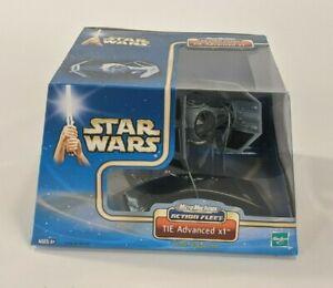 Micro Machines Star Wars Action Fleet 2002 TIE Advanced x1 Toy Hasbro