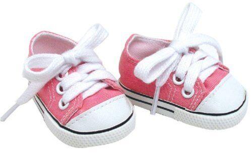 Ropa De Muneca Para Zapatos De Muneca De 18 Pulgadas Color Rosa Hechos Con Ar...