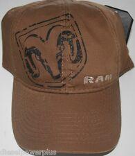Dodge Ram hat baseball cap ball cap wear real logo decal base head Mopar rt new