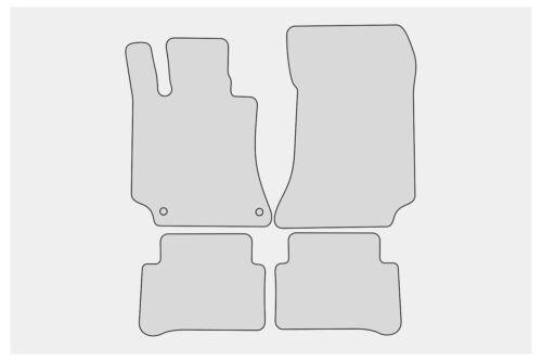 S212 Bj 2009-2016 Exclusive-Sport Fußmatten für Mercedes E-Klasse W212