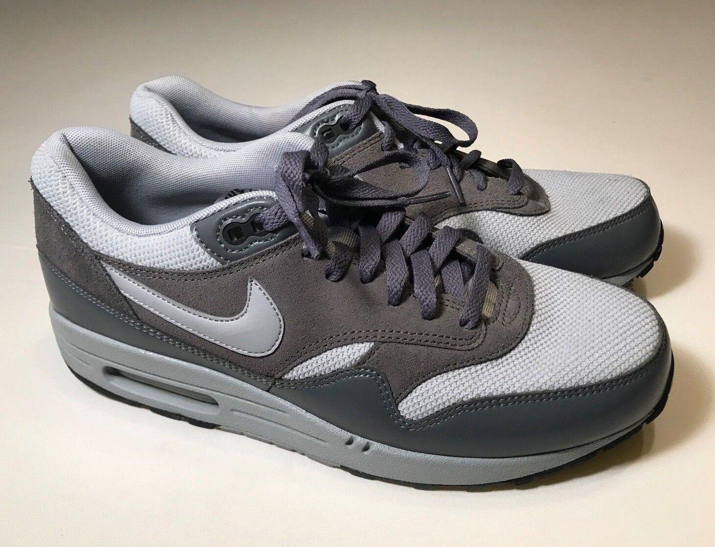 Nike air max 1 essenziale (537383-019) lupo grigio scarpe da ginnastica uomini 10, 1977