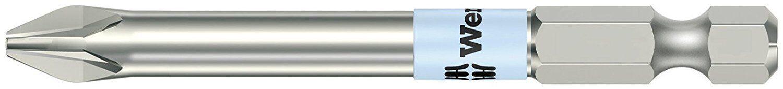 Wera 05071086001  3 x 89mm Stainless Steel Pozidriv Power Bit, 10 Piece