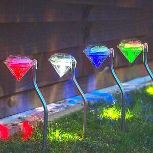 4x-Solar-Powered-LED-Diamond-Stake-Lights-Garden-Outdoor-Fairy-Summer-Lamp-Edge
